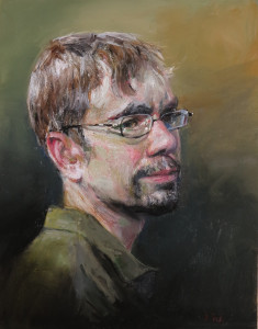 Portrait of Joshua Gray by Judith Peck. Used with permission.